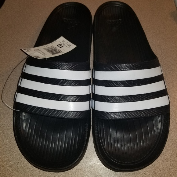 623860b664429d adidas Other - NEW NWT Mens ADIDAS Duramo Slides Sandals